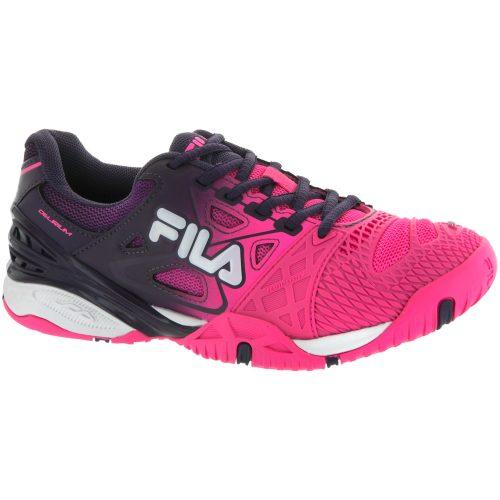 Fila Cage Delirium: Fila Women's Tennis Shoes Knockout Pink/Purple Pennant/White