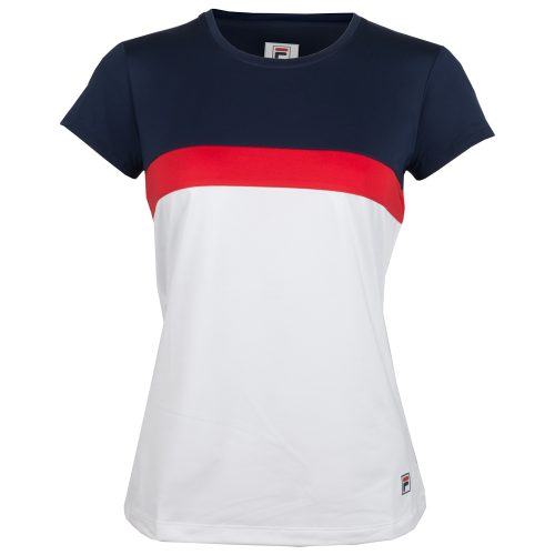 Fila Heritage Cap Sleeve Top Fall 2018: Fila Women's Tennis Apparel