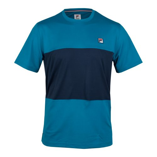 Fila Heritage Colorblocked Crew Fall 2018: Fila Men's Tennis Apparel