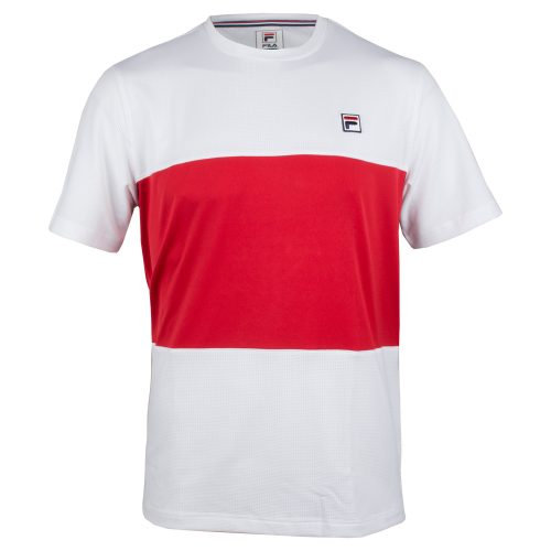 Fila Heritage Colorblocked Crew Fall 2018: Fila Men's Tennis Apparel