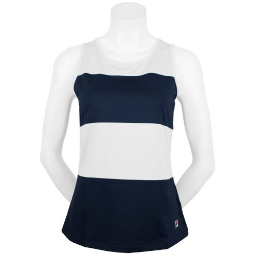 Fila Heritage Sleeveless Tank Fall 2018: Fila Women's Tennis Apparel