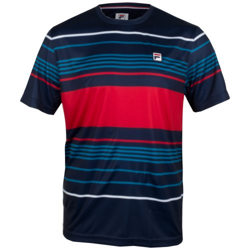 Fila Heritage Striped Crew Fall 2018: Fila Men's Tennis Apparel