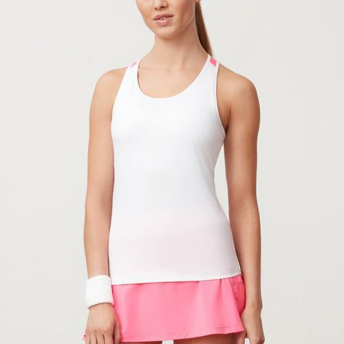Fila Windowpane Racerbank Tank: Fila Women's Tennis Apparel