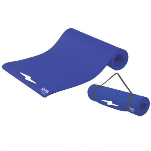 Fitness Deluxe 12mm Exercise Mat - Iris