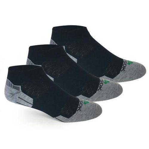 Fitsok CX3 Low Cut Socks 3 Pack: Fitsok Socks