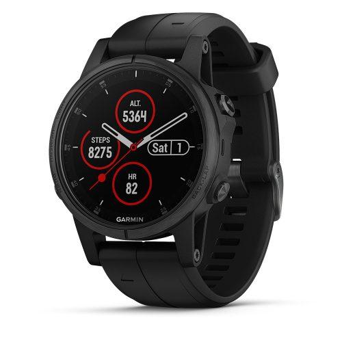Garmin fenix 5s Plus Sapphire Black: Garmin Heart Rate Monitors