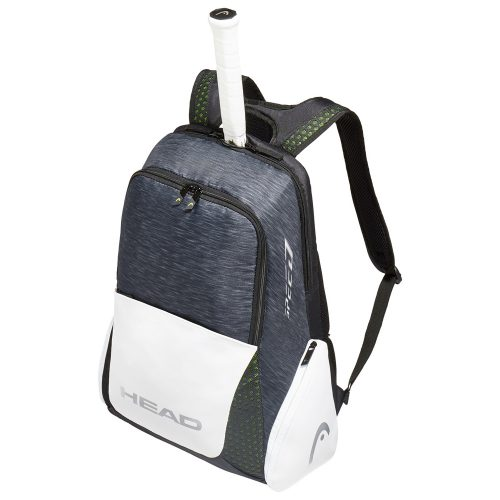 HEAD Djokovic Backpack Black/White: HEAD Tennis Bags