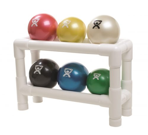 Hand Held Size Wate Ball with 2 Tier Rack - 6 Piece