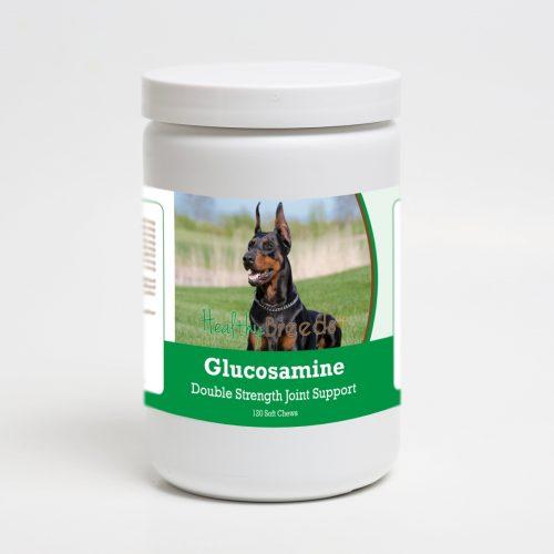 Healthy Breeds 192959014518 Doberman Pinscher Glucosamine DS Plus MSM - 120 Count