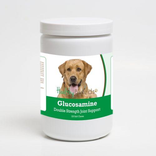 Healthy Breeds 192959014938 Labrador Retriever Glucosamine DS Plus MSM - 120 Count
