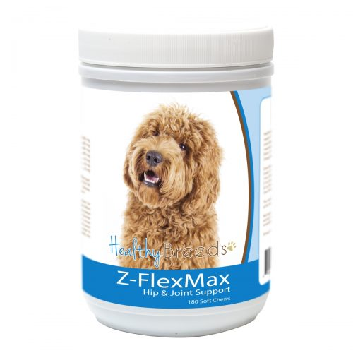 Healthy Breeds 840235155638 Labradoodle Z-Flex Max Dog Hip & Joint Support - 180 Count