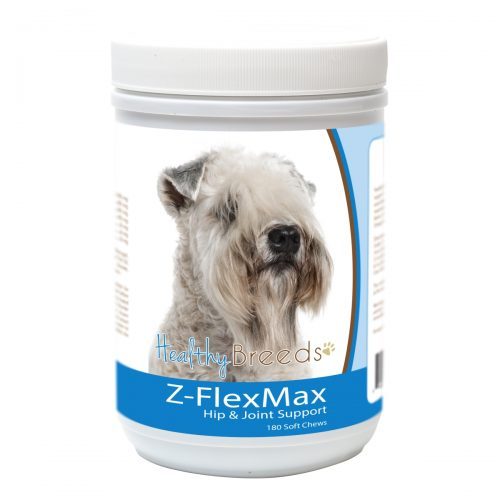 Healthy Breeds 840235155799 Soft Coated Wheaten Terrier Z-Flex Max Dog Hip & Joint Support - 180 Count