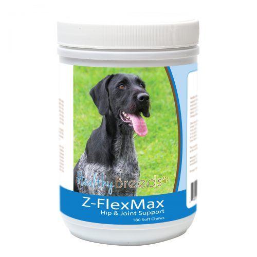 Healthy Breeds 840235155867 German Wirehaired Pointer Z-Flex Max Dog Hip & Joint Support - 180 Count