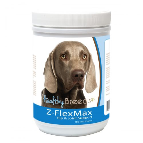 Healthy Breeds 840235155935 Weimaraner Z-Flex Max Dog Hip & Joint Support - 180 Count