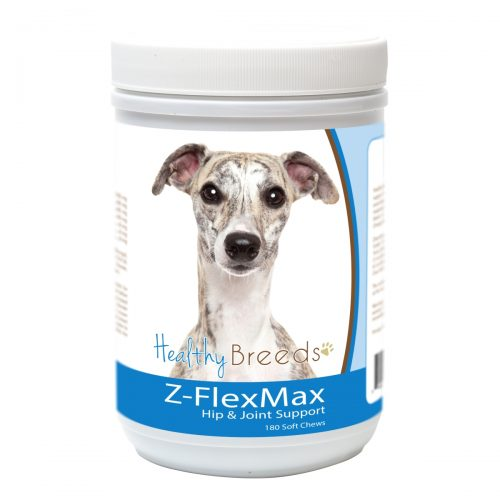 Healthy Breeds 840235155966 Whippet Z-Flex Max Dog Hip & Joint Support - 180 Count