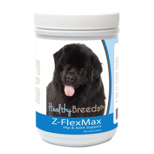 Healthy Breeds 840235156062 Newfoundland Z-Flex Max Dog Hip & Joint Support - 180 Count
