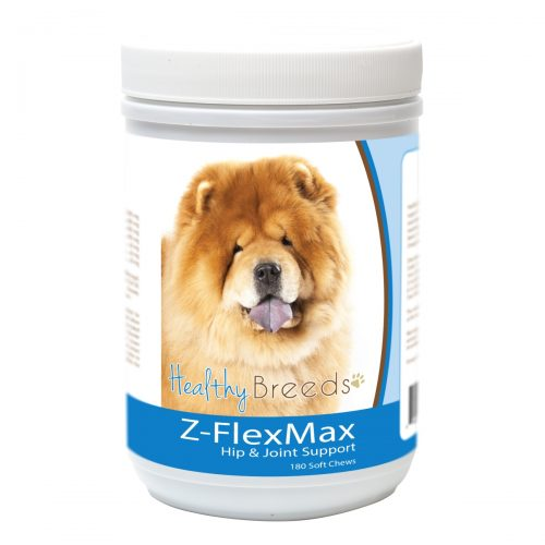 Healthy Breeds 840235156109 Chow Chow Z-Flex Max Dog Hip & Joint Support - 180 Count