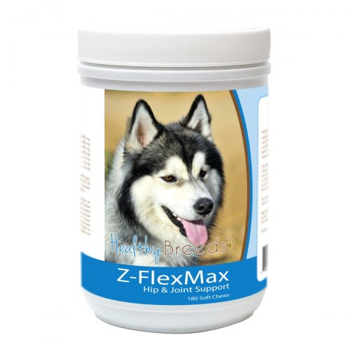 Healthy Breeds 840235156185 Siberian Husky Z-Flex Max Dog Hip & Joint Support - 180 Count