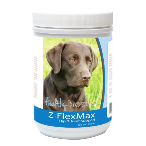 Healthy Breeds 840235156277 Labrador Retriever Z-Flex Max Dog Hip & Joint Support - 180 Count