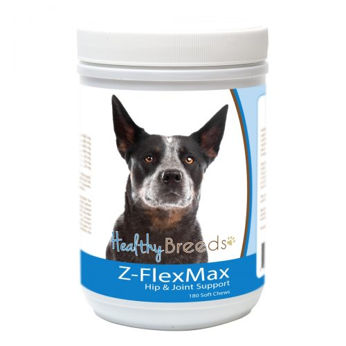 Healthy Breeds 840235156291 Australian Cattle Dog Z-Flex Max Dog Hip & Joint Support - 180 Count