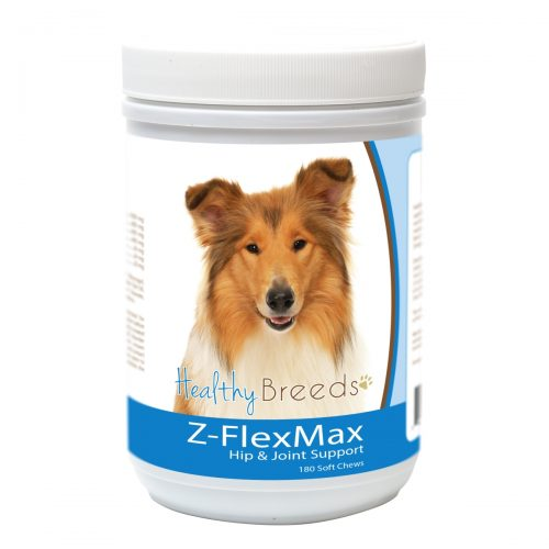 Healthy Breeds 840235156369 Collie Z-Flex Max Dog Hip & Joint Support - 180 Count