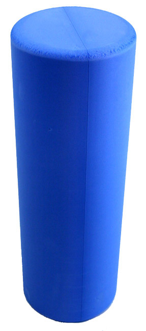 Hi-Density Round Foam Roller 18 Inch - Blue