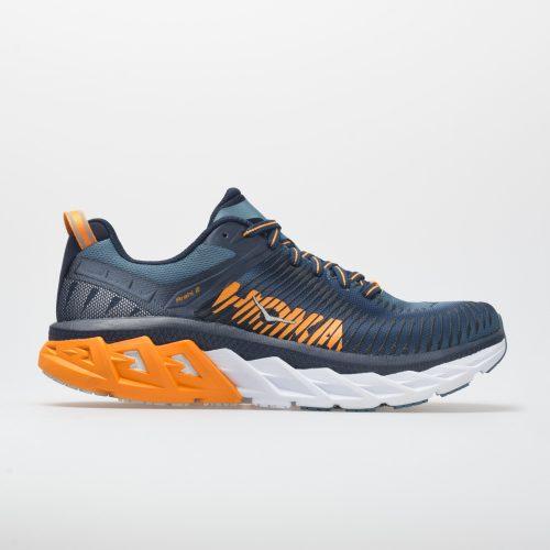 Hoka One One Arahi 2: Hoka One One Men's Running Shoes Black Iris/Bluestone