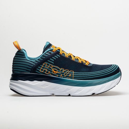 Hoka One One Bondi 6: Hoka One One Men's Running Shoes Black Iris/Storm Blue