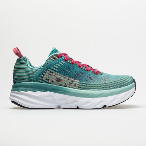 Hoka One One Bondi 6: Hoka One One Women's Running Shoes Canton/Green-Blue Slate