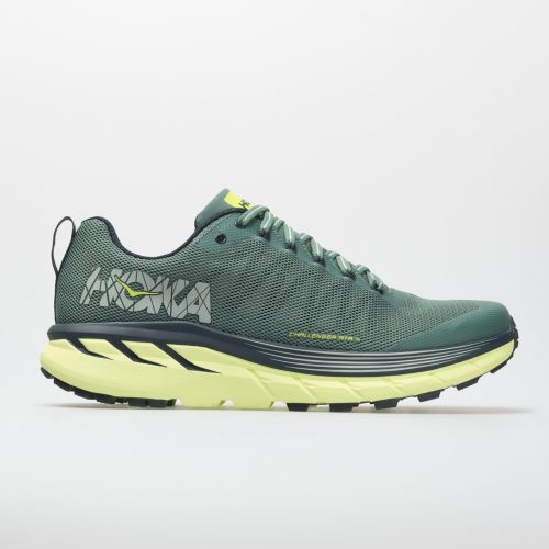 Hoka One One Challenger ATR 4: Hoka One One Men's Running Shoes Silver Pine/Chinois Green