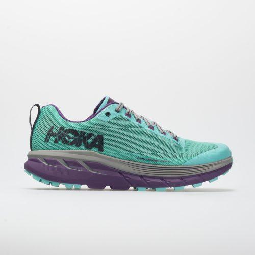 Hoka One One Challenger ATR 4: Hoka One One Women's Running Shoes Pool Blue/Grape Royal