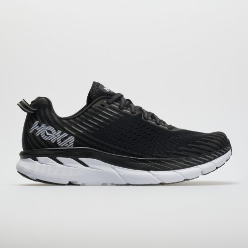 Hoka One One Clifton 5: Hoka One One Men's Running Shoes Black/White
