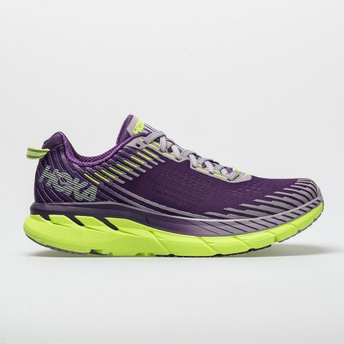 Hoka One One Clifton 5: Hoka One One Women's Running Shoes Grape Royale/Lavender Aura