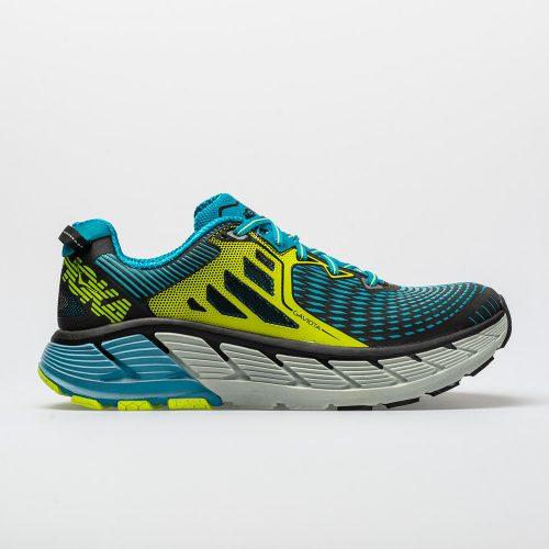 Hoka One One Gaviota: Hoka One One Men's Running Shoes Black/Caribbean Blue
