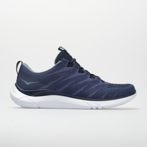Hoka One One Hupana Knit Jacquard: Hoka One One Men's Running Shoes Dress Blue/Blue Ribbon