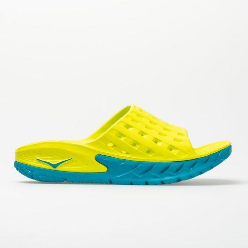 Hoka One One Ora Recovery Slide: Hoka One One Men's Sandals & Slides Caribbean Sea/Primrose