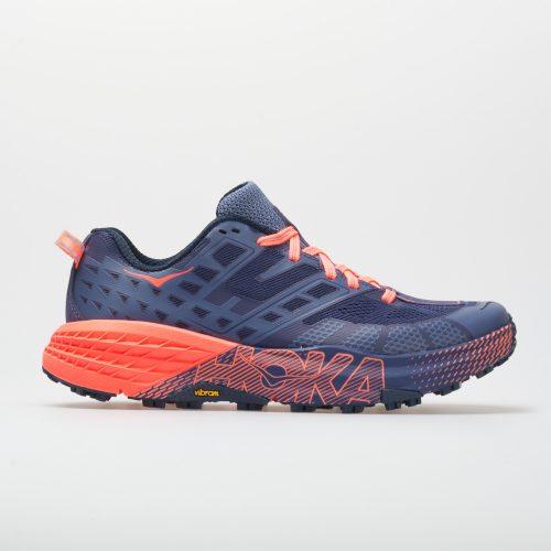 Hoka One One Speedgoat 2: Hoka One One Women's Running Shoes Marlin/Blue Ribbon