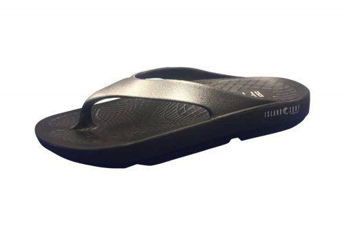 Island Surf Company Wave Sandals - Women's - black/silver, 6