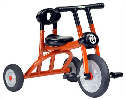 Italtrike 200-07 Orange Pilot 200 Tricycle 1 Seat
