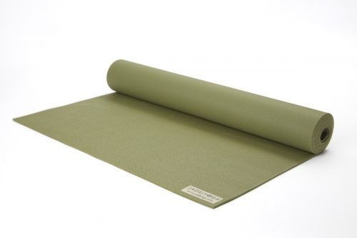 Jade Yoga 368OL Professional Yoga Mat - Olive Green - 0.18 x 68 in.