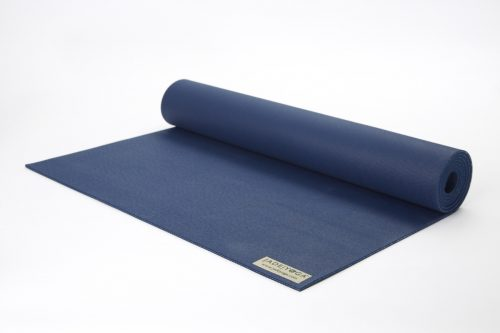Jade Yoga 868MB Travel Yoga Mat - Midnight Blue - 0.12 x 68 in.