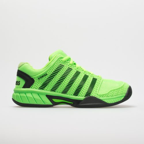 K-Swiss Hypercourt Express Junior Neon Lime/Black: K-Swiss Junior Tennis Shoes