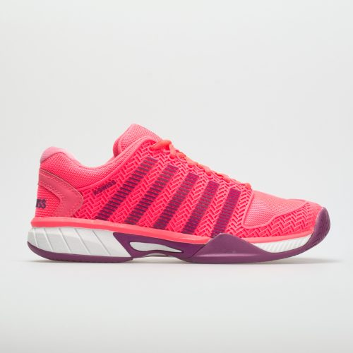 K-Swiss Hypercourt Express Junior Neon Pink/Deep Orchid: K-Swiss Junior Tennis Shoes