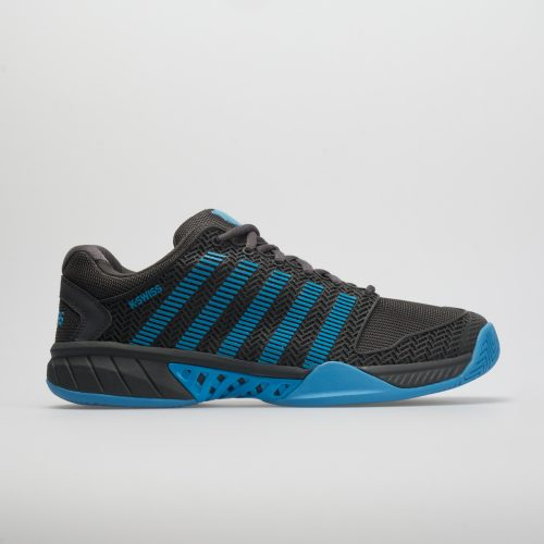 K-Swiss Hypercourt Express: K-Swiss Men's Tennis Shoes Magnet/Malibu Blue