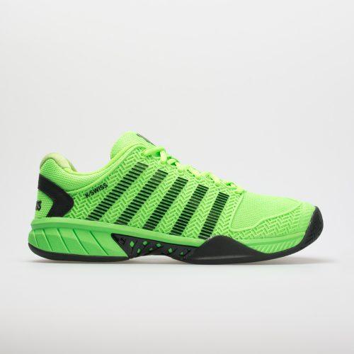 K-Swiss Hypercourt Express: K-Swiss Men's Tennis Shoes Neon Lime/Black