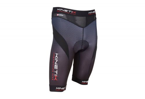 Kinetik Compression Cycling Shorts - Men's - black/blue, small