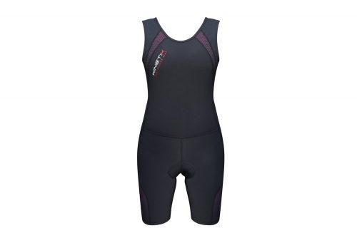 Kinetik Compression Triathlon Suit - Women's - black/pink, medium