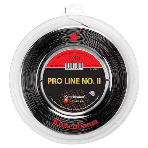 Kirschbaum Pro Line II 16 1.30 Black 660' Reel: Kirschbaum Tennis String Reels