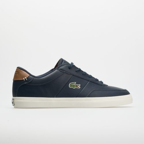 Lacoste Court Master: LACOSTE Men's Tennis Shoes Navy/Brown