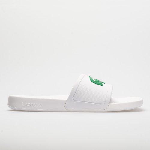 Lacoste Fraisier: LACOSTE Men's Sandals & Slides White/Green